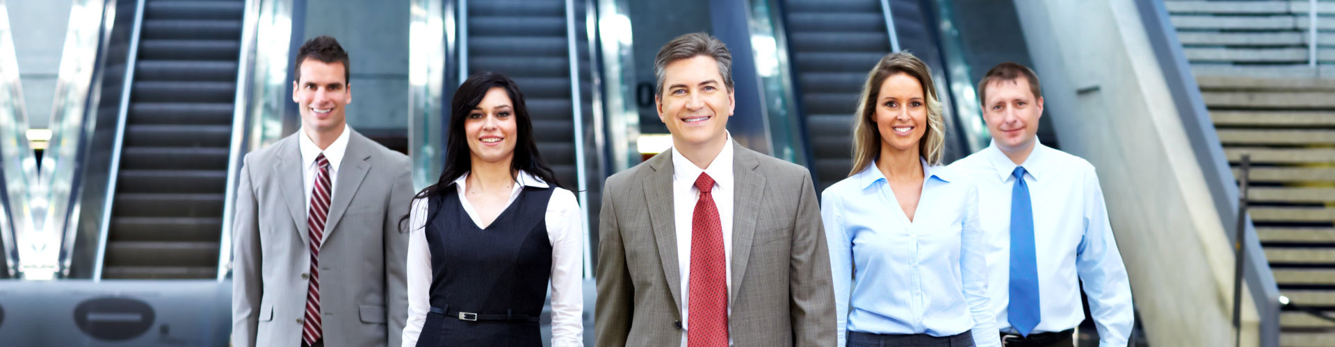 business professionals walking