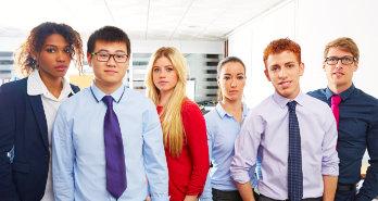 portrait of officemates